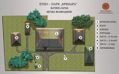 """Етно парк """"Брвнара"""" у Бачком Јарку"""