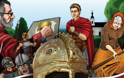 Златни шлем – интерактивни стрип у проширеној стварности