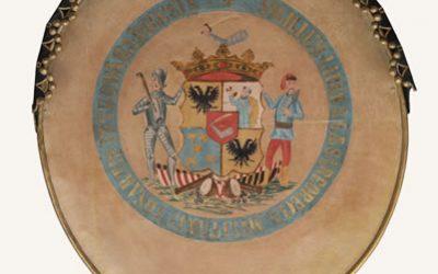 Grb slobodne carsko-kraljevske streljačke kompanije Petrovaradina